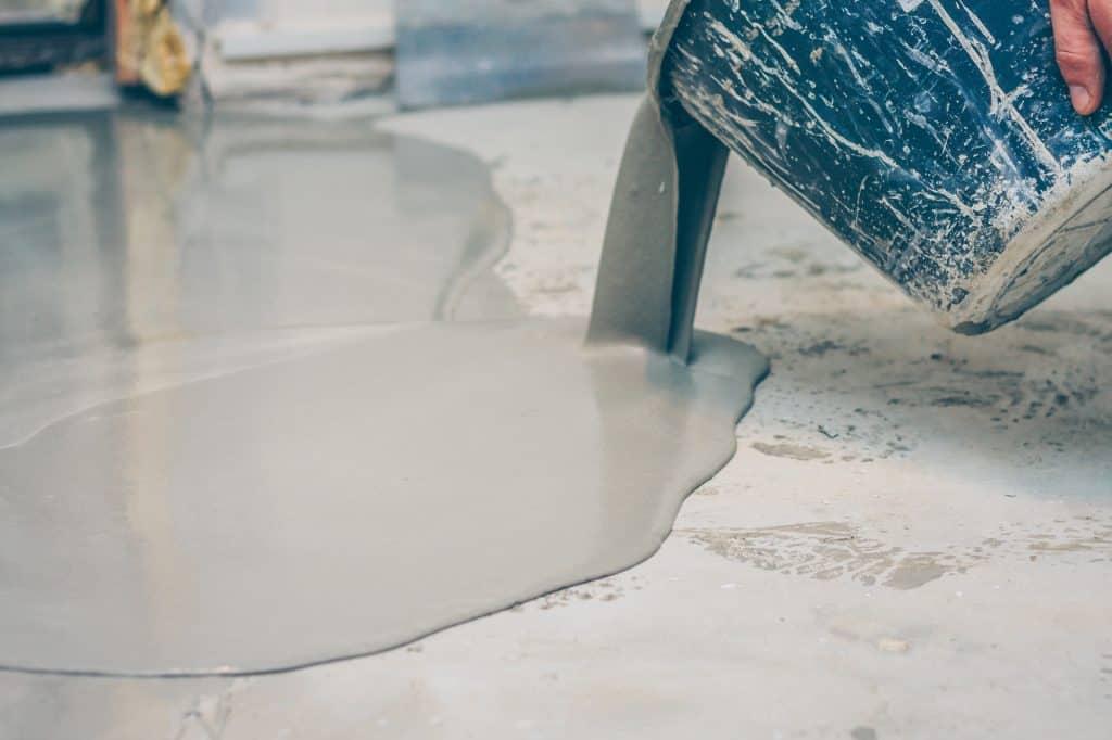 epoxy finish on a concrete floor