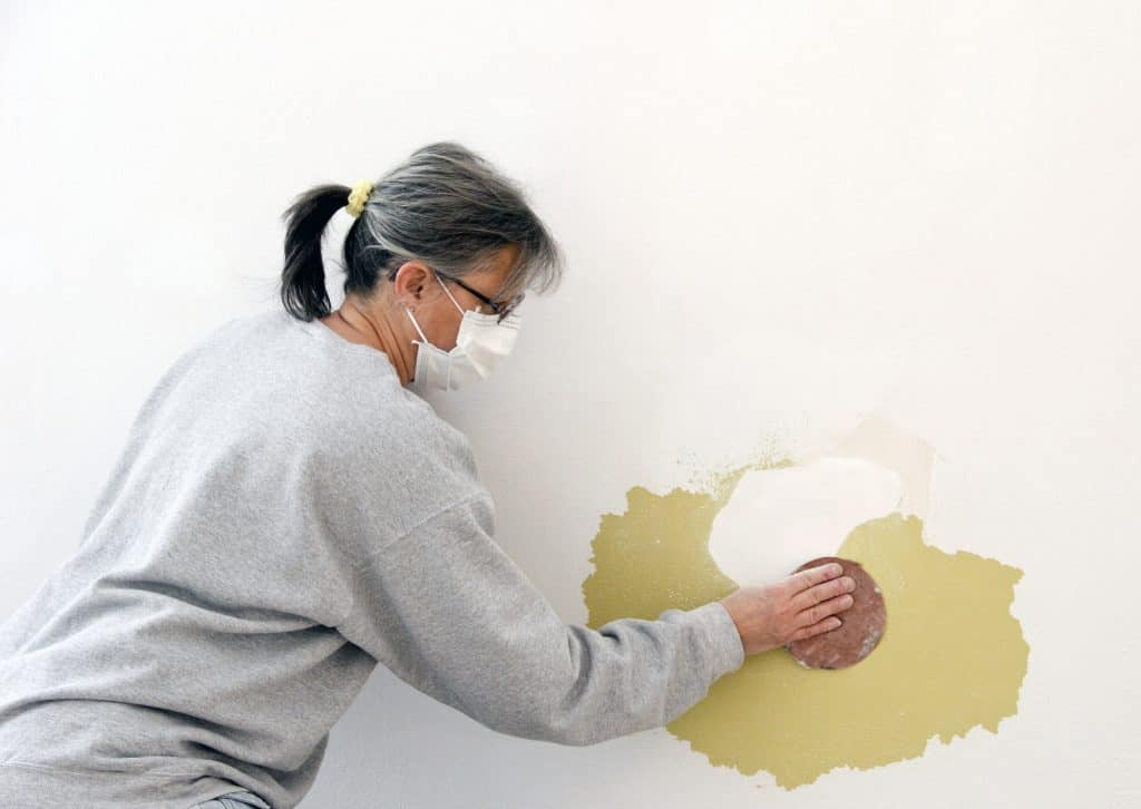 sanding before painting
